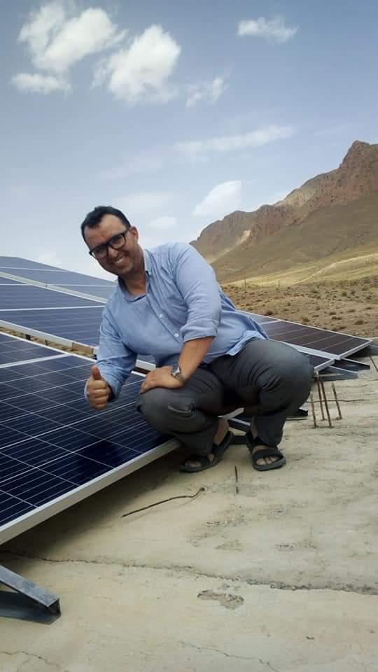 Installation de pannaux solaire